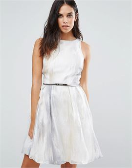 Organza Embroidered Prom Dress