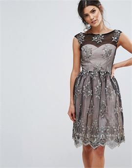 Embroidery Prom Dress