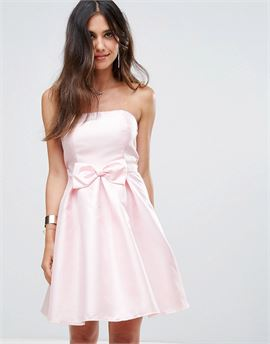 Bandeau Prom Dress