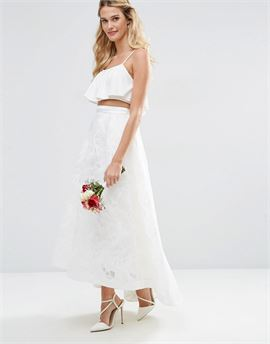 BRIDAL Full lace Prom Skirt