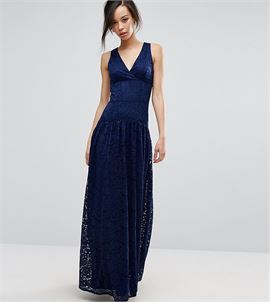 Allover Lace Full Prom Maxi Dress