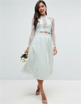 Bridesmaid Lace Prom Skirt