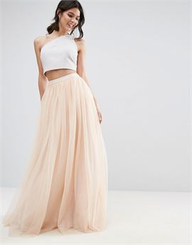 Tulle Maxi Prom Skirt