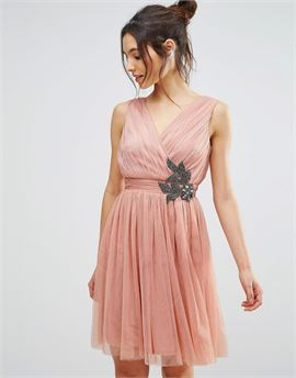 Embellished Prom Dress